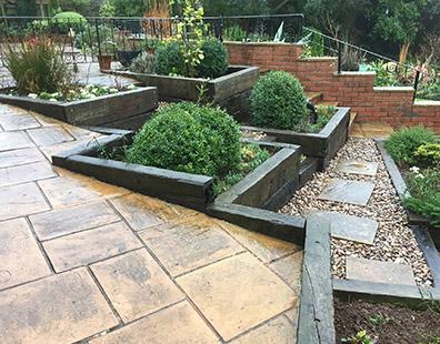 Landscape design devon for Garden design devon