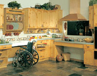 Kitchen Devon Disabled