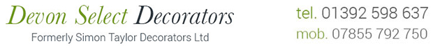 Devon Painter Decorator Interiors