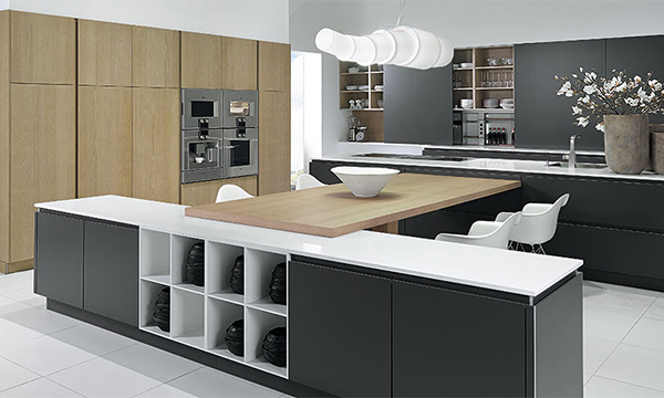 Hacker kitchen designers devon german kitchen design for Modern german kitchen designs