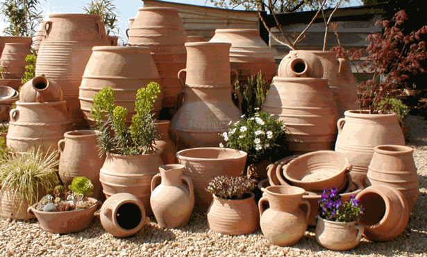 Somerset Creta Cotta Hand Made Terracotta Pots And Pithoi